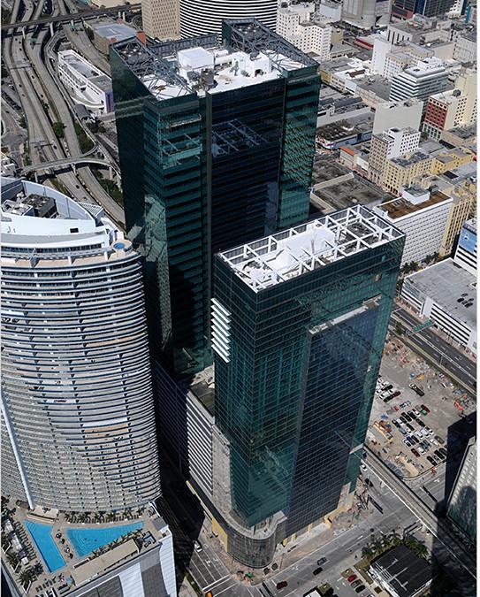 Met 2 Office Tower & Marriott Marquis Hotel
